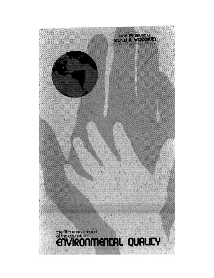August 1974 The Fifth Annual Report Of The Council On Environmental Quality