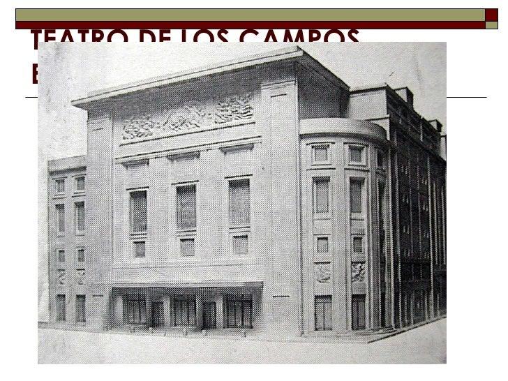Campos eliseos teatro free antigua postal de bilbao - Restaurante teatro campos ...