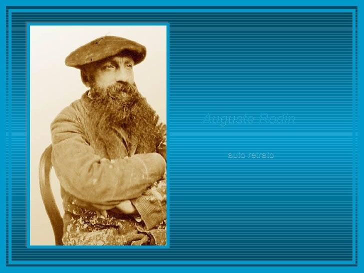 Auguste Rodin   auto retrato
