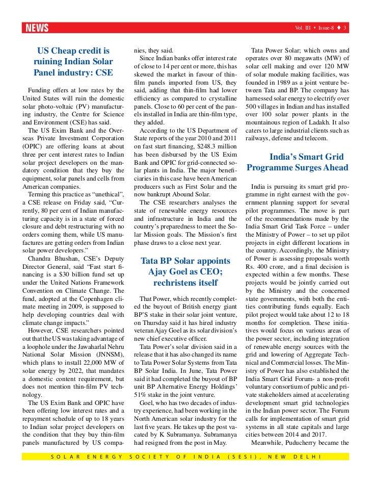 Sesi Solar August Issue 2012