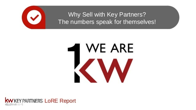LoRE Report Why Sell with Key Partners? The numbers speak for themselves!