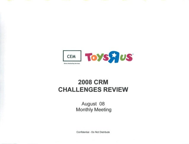 aim:  Marketing Servizes  2008 CRIVI CHALLENGES REVIEW  August 08 Monthly Meeting  Confidential - Do Not Distribute