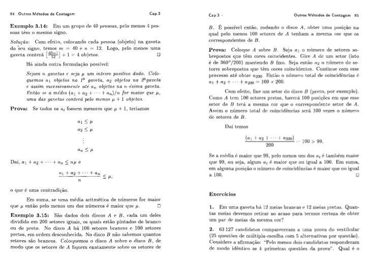 Augusto cesar de o. morgado   analise combinatoria e probabilidade[p084-133]