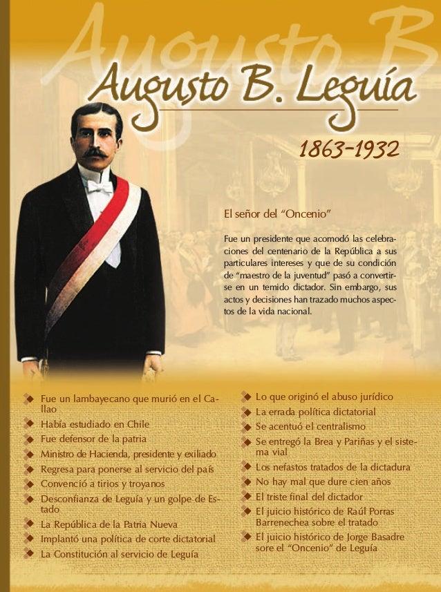 Augusto Leguia