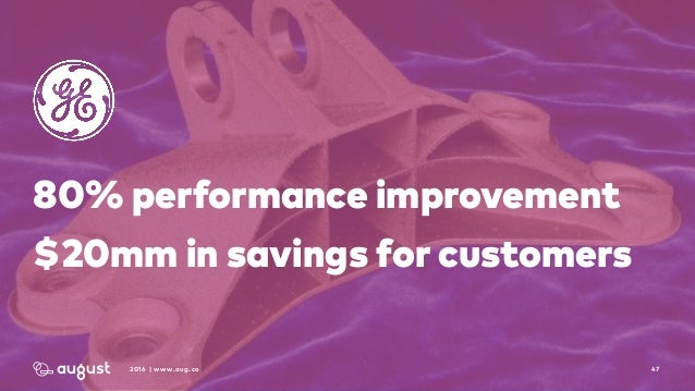 472016 | www.aug.co 80% performance improvement $20mm in savings for customers