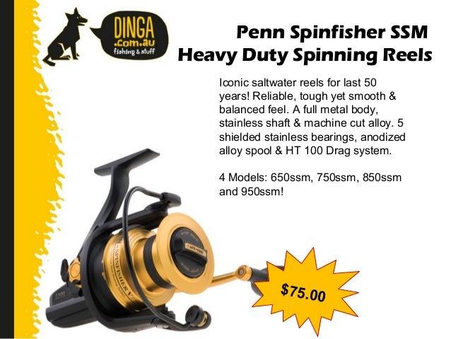 Penn 750 SSM Spinning Reel USED PENN REEL PART Spool Shaft