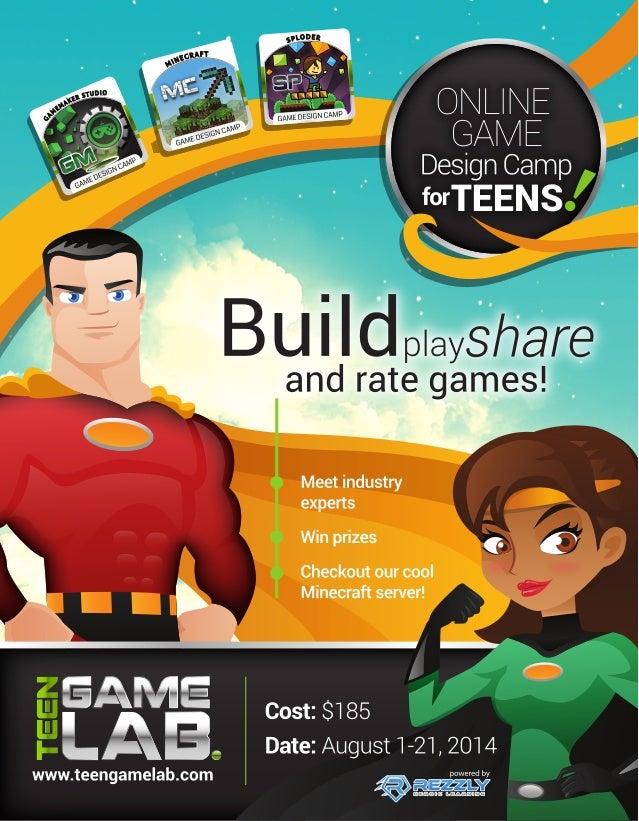 Teen GameLab - August 2014