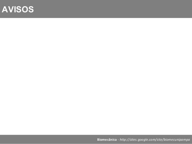 Biomecânica - Aula 3   oper vetoriais e cond equilibrio Slide 2
