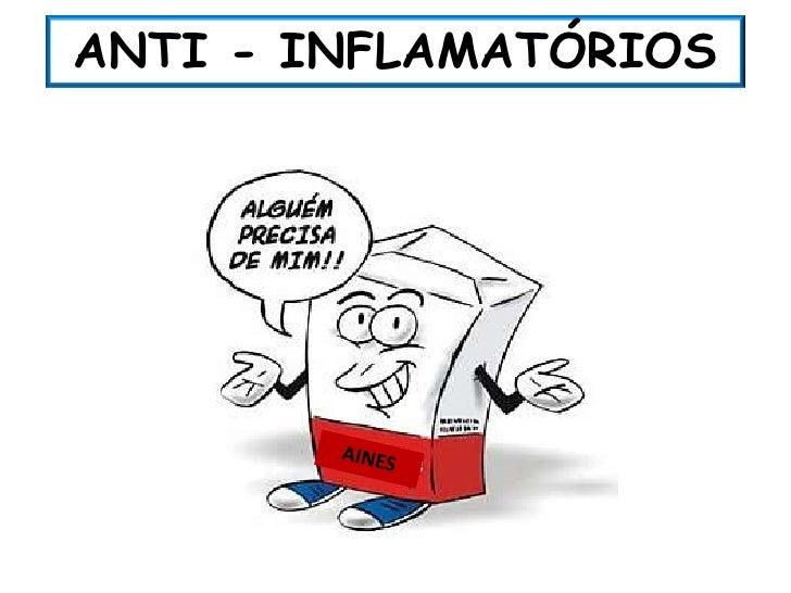 ANTI - INFLAMATÓRIOS