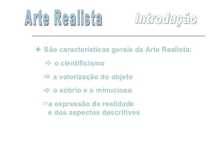 Aula   arte realista Slide 2