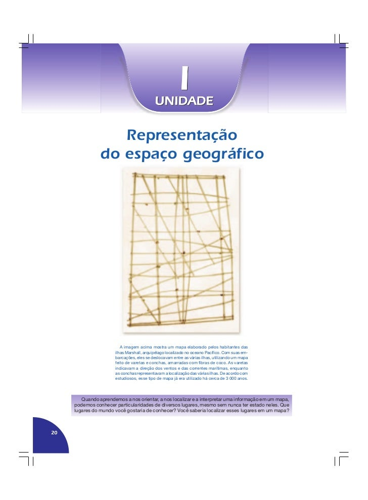 Representação                 do espaço geográfico                               A imagem acima mostra um mapa elaborado p...