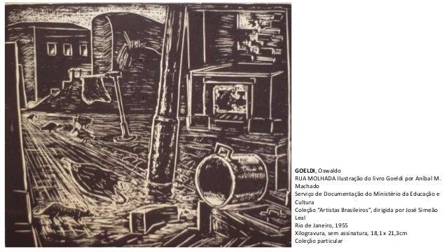 GOELDI, Oswaldo RUA MOLHADA Ilustração do livro Goeldi por Aníbal M. Machado Serviço de Documentação do Ministério da Educ...