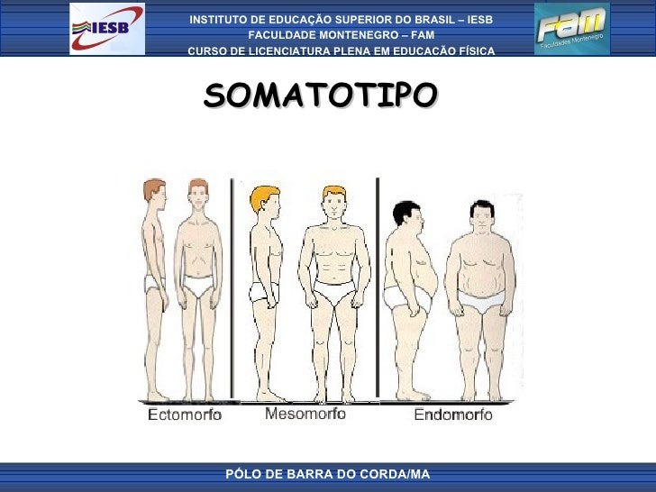 SOMATOTIPO  PÓLO DE BARRA DO CORDA/MA