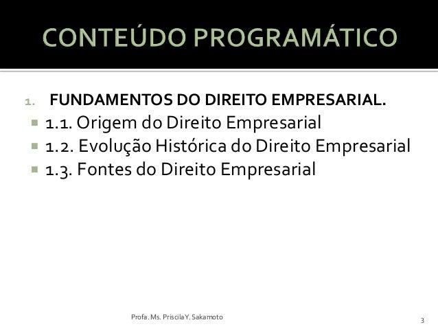 Aula 01   direito empresarial1 Slide 3