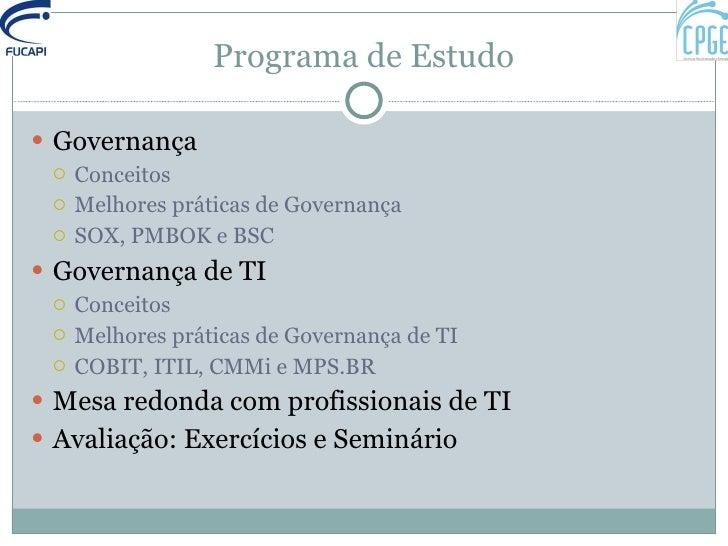 Sobre Governança Slide 2