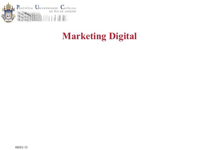 Marketing Digital08/01/13