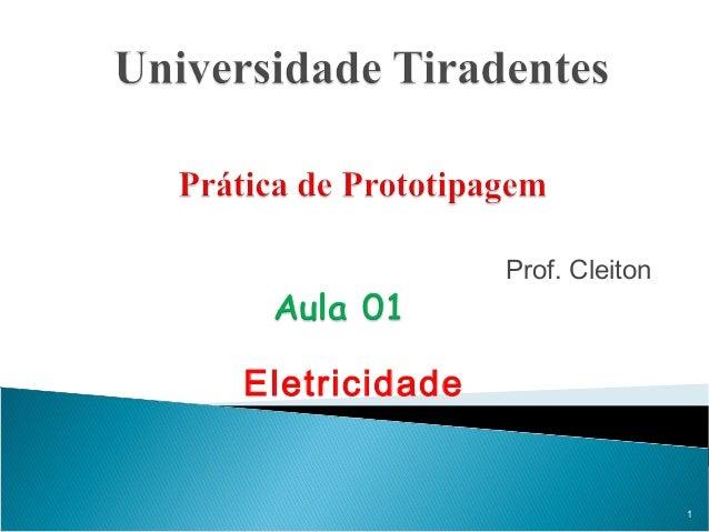 Prof. Cleiton Eletricidade 1