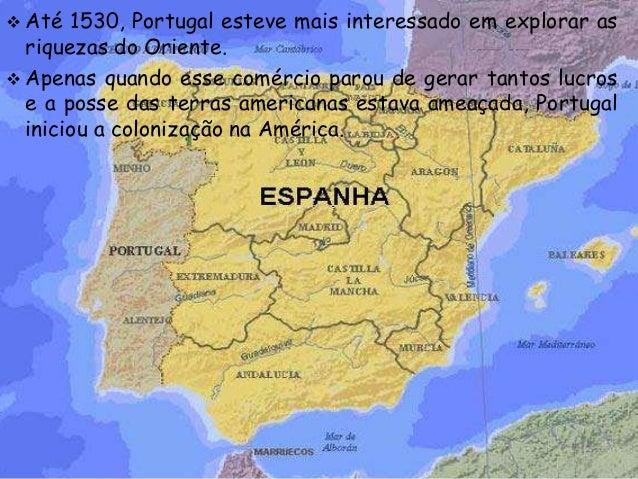 mapa de espanha em portugues Antecedentes da produção do espaço brasileiro mapa de espanha em portugues