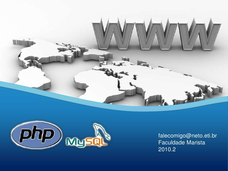 Aula 01 - Curso PHP e MySQL