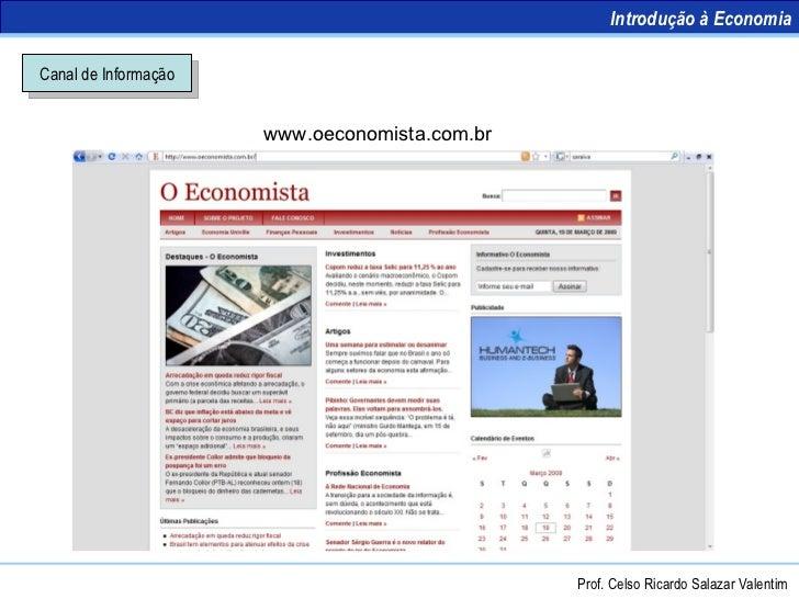 Introdução à Economia - Conceitos Slide 3