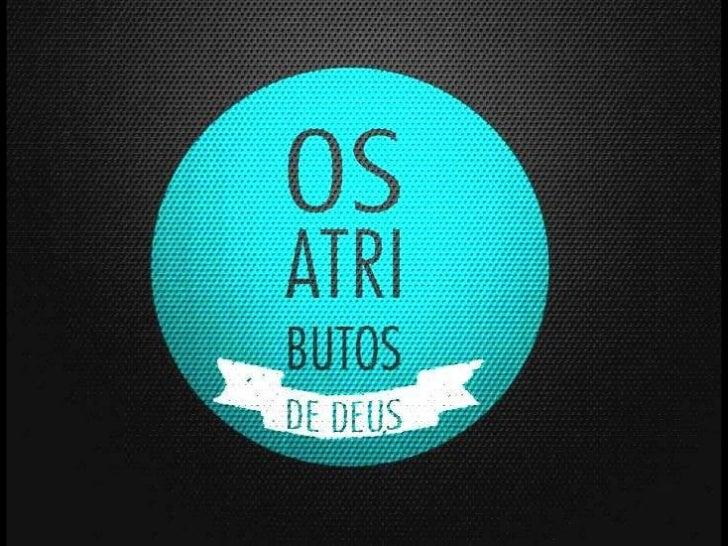 Aula 02 2012  ebd_Deus é Espírito