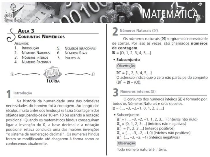 Aula 03 - Matemática