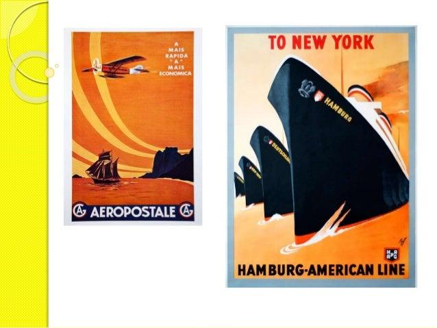 Anúncios em estilo art déco: