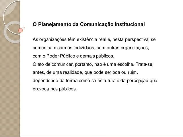 Aula 03 comunicação institucional o plano de comunicação integrada Slide 2