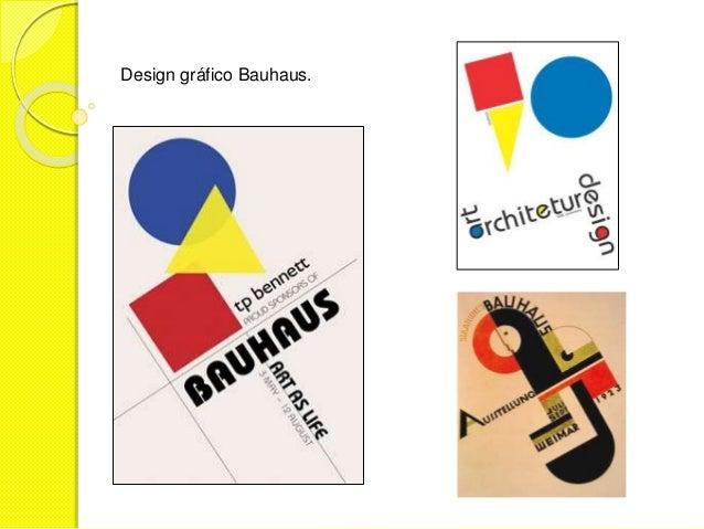 Design gráfico Bauhaus.