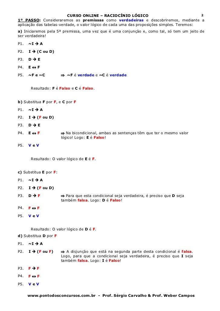 Aula 05   estruturas lógicas parte 2 Slide 2