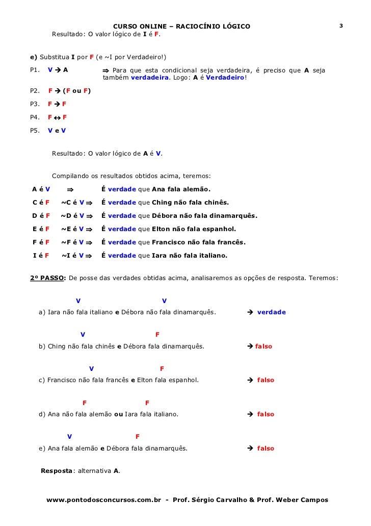 Aula 05   estruturas lógicas parte 2 Slide 3