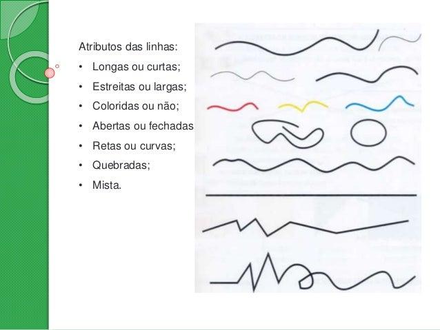 Em função das formas que assumem, as linhas podem expressar estados de espírito, reforçar ideias ou transmitir sentimentos...