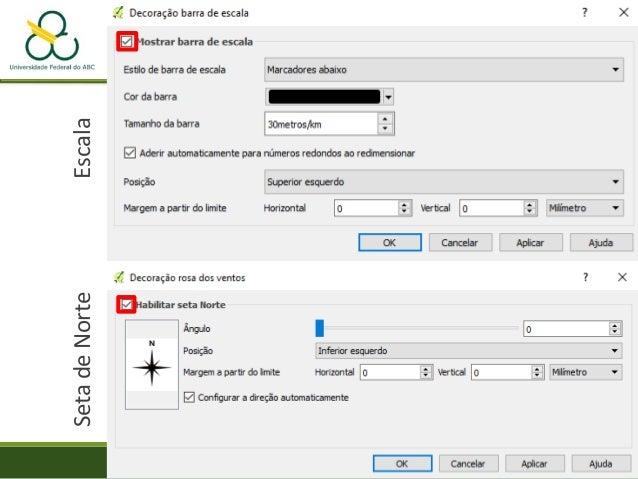 """• Menu """"WEB"""" – QGis2threejs -> QGis2threejs • Selecione o raster spline como """"DEM Layer"""" Prática – Mapa de Proximidade"""