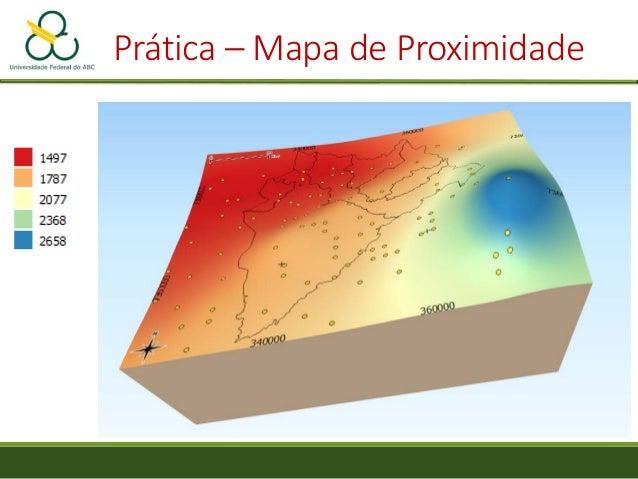 Análise de Eventos Pontuais - Distância padrão, Agregação, Mapas de Kernel, Proximidade e Interpolação