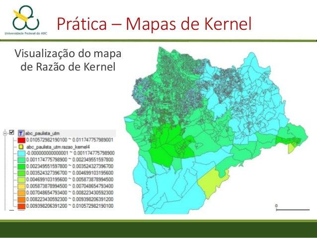 """Prática – Mapas de Kernel • Selecione o formato """"Shapefile"""" • Clique em """"Arquivo"""" e escolha a pasta e o nome do arquivo a ..."""