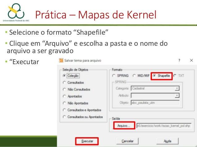 Mapas de Proximidade Pontos Linhas Polígonos Innovative GIS. 2005. Calculating Effective Distance and Connectivity. Em: ht...