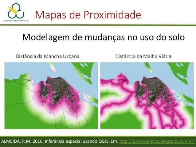 """• Crie um novo campo, com nome """"um"""" e valor = 1 Prática – Mapa de Proximidade"""