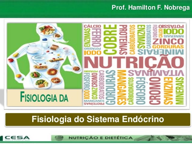 Prof. Hamilton F. Nobrega Fisiologia do Sistema Endócrino