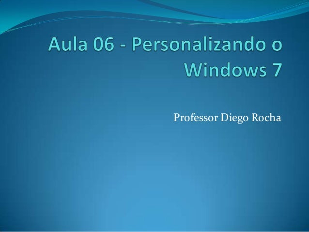 Professor Diego Rocha