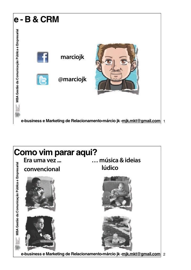 e - B & CRMMBA Gestão da Comunicação Pública e Empresarial                                                                ...