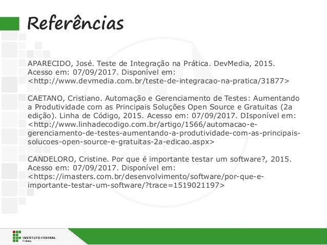principais tipos de teste de software