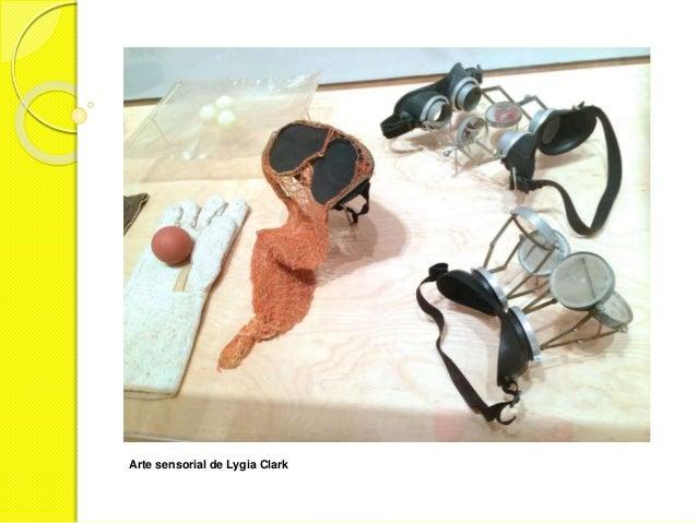 Arte sensorial de Lygia Clark