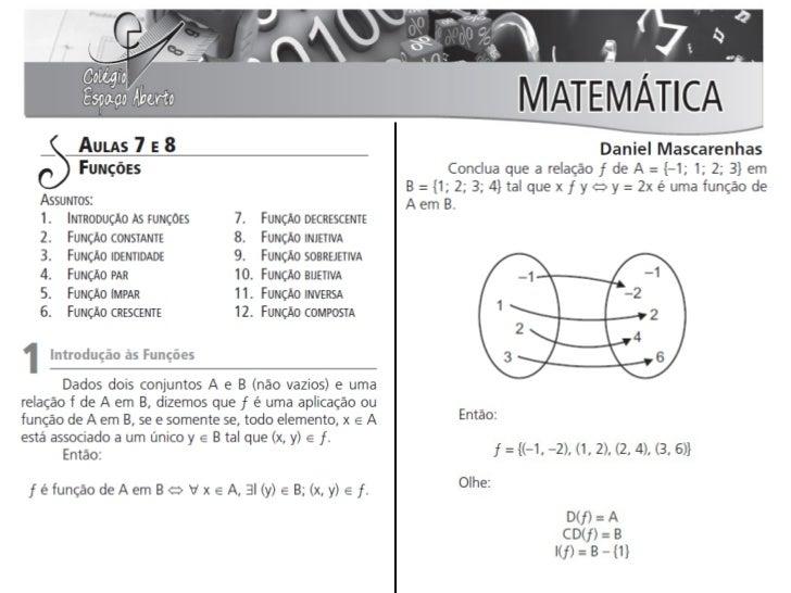 Aulas 07 e 08 - Matemática