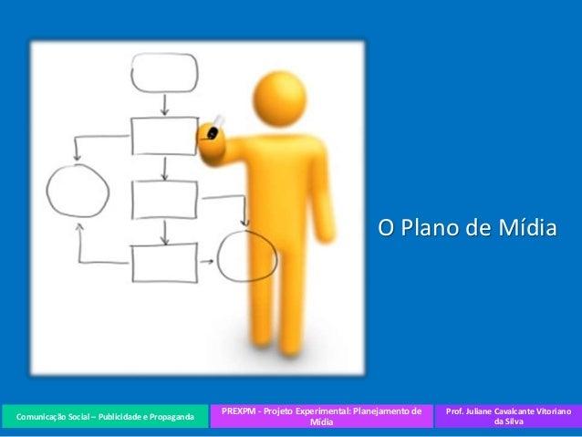 Comunicação Social – Publicidade e Propaganda PREXPM - Projeto Experimental: Planejamento de Mídia Prof. Juliane Cavalcant...
