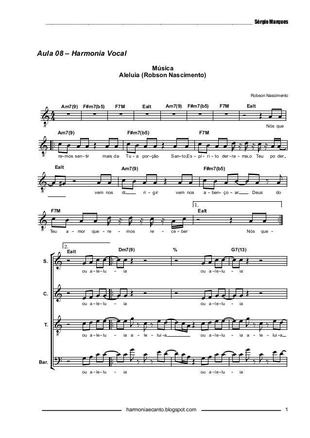 NASCIMENTO ROBSON BAIXAR ALELUIA MUSICA