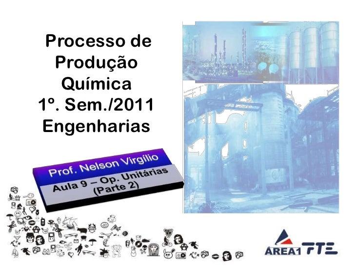 Aula 09   tecnologia da engenharia química - operações unitárias ii - 01.04