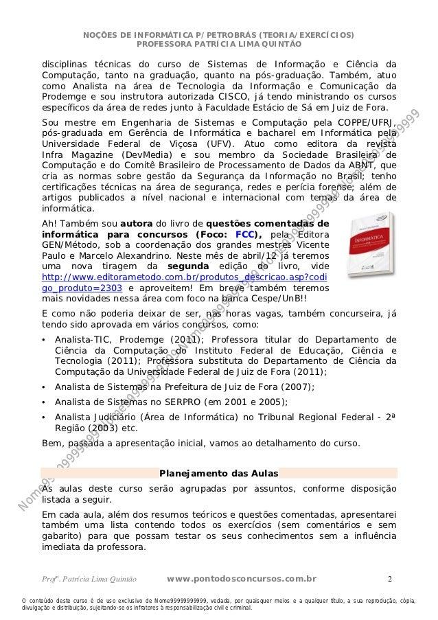 Aula0 inform petrobras_33099 Slide 2