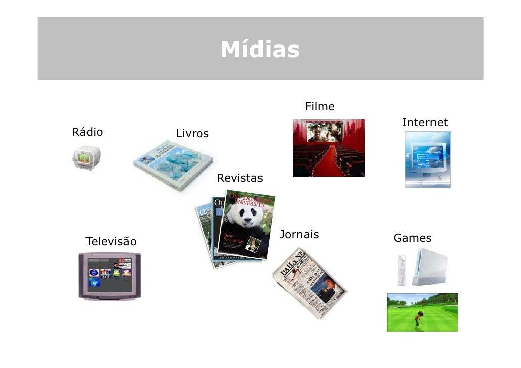 Mídias                                        Filme                                                Internet Rádio         ...