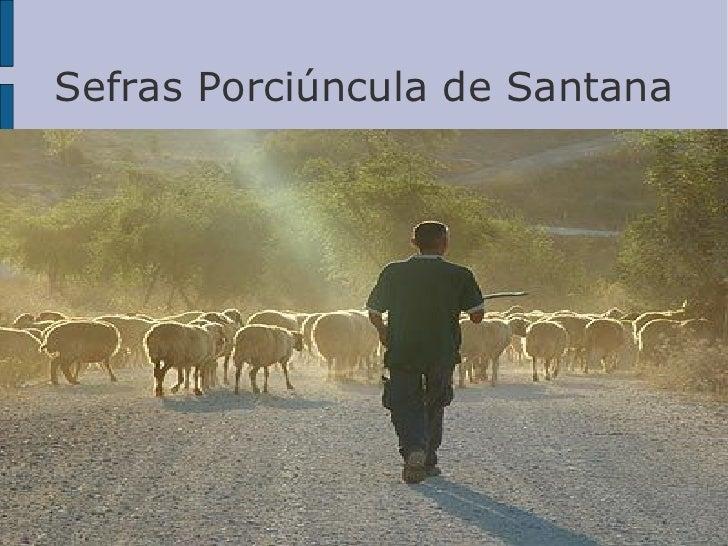 Sefras Porciúncula de Santana