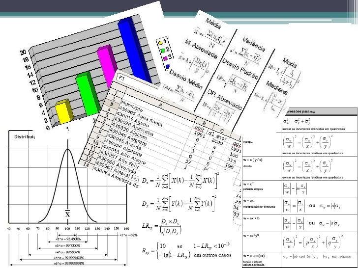 O que é a ciência da estatística?• É uma ciência que se dedica à coleta, análise e  interpretação de dados;• A estatística...